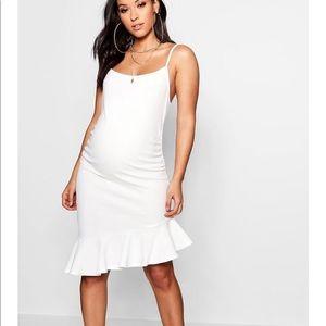 Dresses & Skirts - White maternity dress NWT!